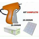 Kit Aplicador Tag + 10.000 Etiquetas + 10.000 Pins P/roupas