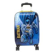 Mala Infantil Escolar Rígida Batman 4 Rodinhas 360° - 10256