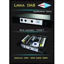 Amplificador De Potencia Meaaudio Dab2400 2400wrms Eawmusic