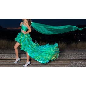 Vestido Xv Corto C/ Opcion Princesa Marca Happy Joes Remate