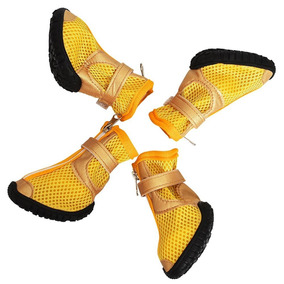 Zapatos Perro Antiderrapante Botas Amarillo Myshoes