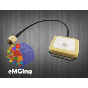 Antena Gps Activa 24db - Sma Macho - Emging - Arduino Iot