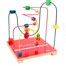 Brinquedo Educativo Pedagogico Mad Aramado Montanha Russa