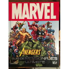 Marvel Avengers Guia De Personajes Ultimate(español) +regalo