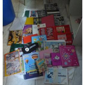 Lote Com 32 Produtos De Material Escolar