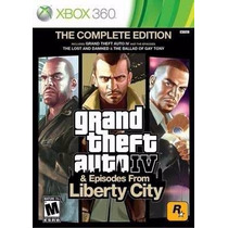 Gta Complete Edition Gta 4 Iv + Liberty City Física Xbox 360