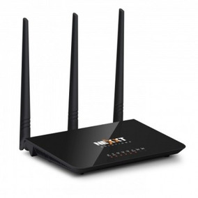 Router Rompemuro Nexxt Nebula 300mbps 5dbi 3 Ant Wifi