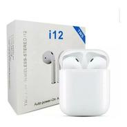 Audífonos Inalámbricos I12 Tws Blanco