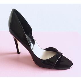 Zapatos Sandalias De Charol Con Taco Zara Importados