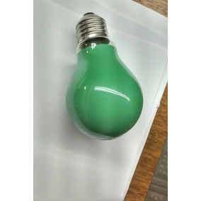 Lampadas Incandescente Philips 120v 25w Cor Verde