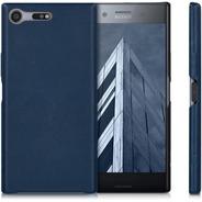 Funda Kwmobile Sony Xperia Xz Premium Leather Dark Blue