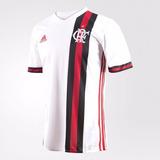 Camisa Flamengo 2 Branca 2017/18 Personalizada Frete Grátis