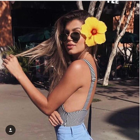 Body Verão Jardineira Feminina Moda Blogueira Instagram