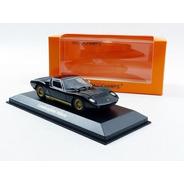 Lamborghini Miura Black 1966 - 1/43 Maxichamps