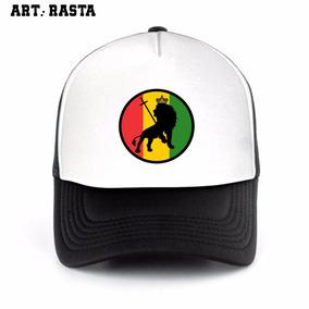 Gorra Cultura Reggae Rasta Trucker Camionera Nomore