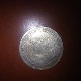 Moneda Estados Unidos De Venezuela Lei 900 25 Gram. Año 1912
