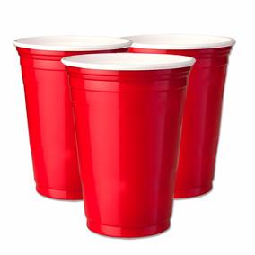 150un Red Cup Copos Party Americanos, Copo Vermelho 400ml
