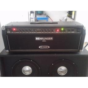 Cabeçote Behingher Gmx 1200h V Tone Com Caixa 4x12