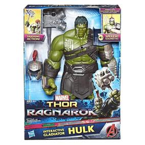 Thor Ragnarok Hulk Electrónico Interactivo Marvel Hasbro