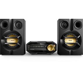 Minisystem Philips Hi-fi Fx10x/78, 200w Rms, Cd/mp3, Usb