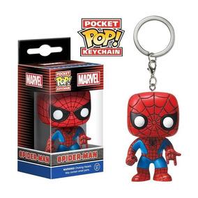 Pop Chaveiro Marvel Spider Man