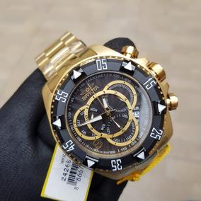 70af6009559 Relogio Invicta Excursion 11904 Ouro 18k - Relógios De Pulso no ...