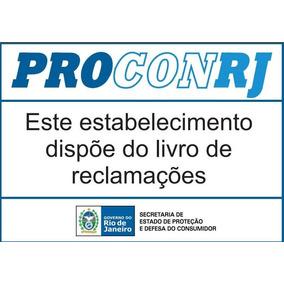 Cartaz Expositor Do Livro Reclamações Procon Rj. C/4