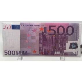 Carteira Super Dinheiro Cartao Dolar Lona Nota Real Slim