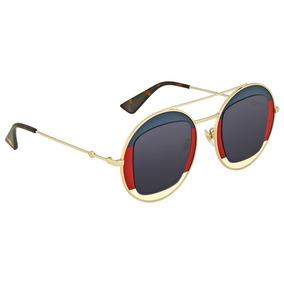 6faa76eedacb3 Oculos Gucci Original Gg0105s Fotos Reais Oportunidade