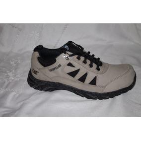 Zapato Casual De Hombre Caterpillar Original 100% De Cuero