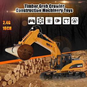 Trator Controle Remoto Elétrico Barato Timber Grab