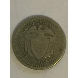 Moneda De 5 Centavos Estados Unidos De Colombia 1874