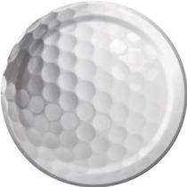 Golf Fanatic 7 Postre Pastel Placas (8 Ct)