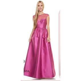 Vestido De Fiesta O Graduación Rosa Mexicano Envío Gratis