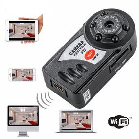 Mini Micro Câmera Wifi Ip Sem Fio Dvr Gravador De Vídeo Q7