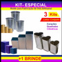 3 Kits Diversos Para Fabricar Velas Artesanais ( + Brinde )