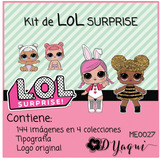 Kit Imprimible Clipart Png Lol Surprise Muñecas Imagenes