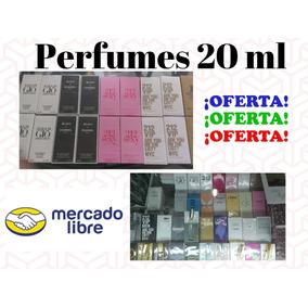 Perfume De Dama Y Caballero 20 Ml Originales Importados
