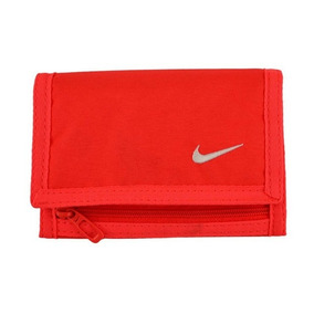 Billetera Nike Basic Roja Remate Nueva Original Importada