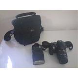 Nikon D3300 Lente 18-55 Vr Como Nueva Impecable