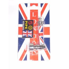 Pipa Hitter Metalica 6.5 Cm Bandera Britanica