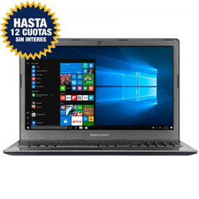 Notebook Bangho I3 15,6 Hd 8gb 1tb Windows 10 Usb 3.0