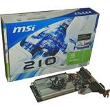 Tarjeta Gráfica Msi Geforce N210-md1g 1gb Video Hd Gamer