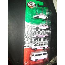 Gcg Juego De Pack Edo Mexico Taxi Mania Blister Con 5 Pzas
