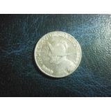 Panama Decimo Balboa 1962 Plata Ley 0.900 17mm Envió Gratis