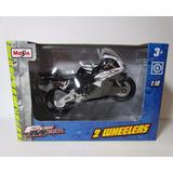 Moto Honda Cbr 1000 Rr Escala 1/18 Coleccion 12cm
