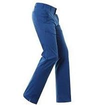 Tati Golf Pantalon Adidas Azul 3 Tiras Solo 34-36-38 Usa