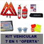 Kit De Seguridad Automoto 7 En 1 Reglamentario Vtv Oferta