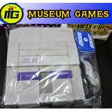 Consola Super Nintendo Original +1 Joy + Fuente -local- Mg