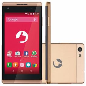 Smartphone Positivo Selfie S455 8gb Dual Chip 3g 5mp Dourado